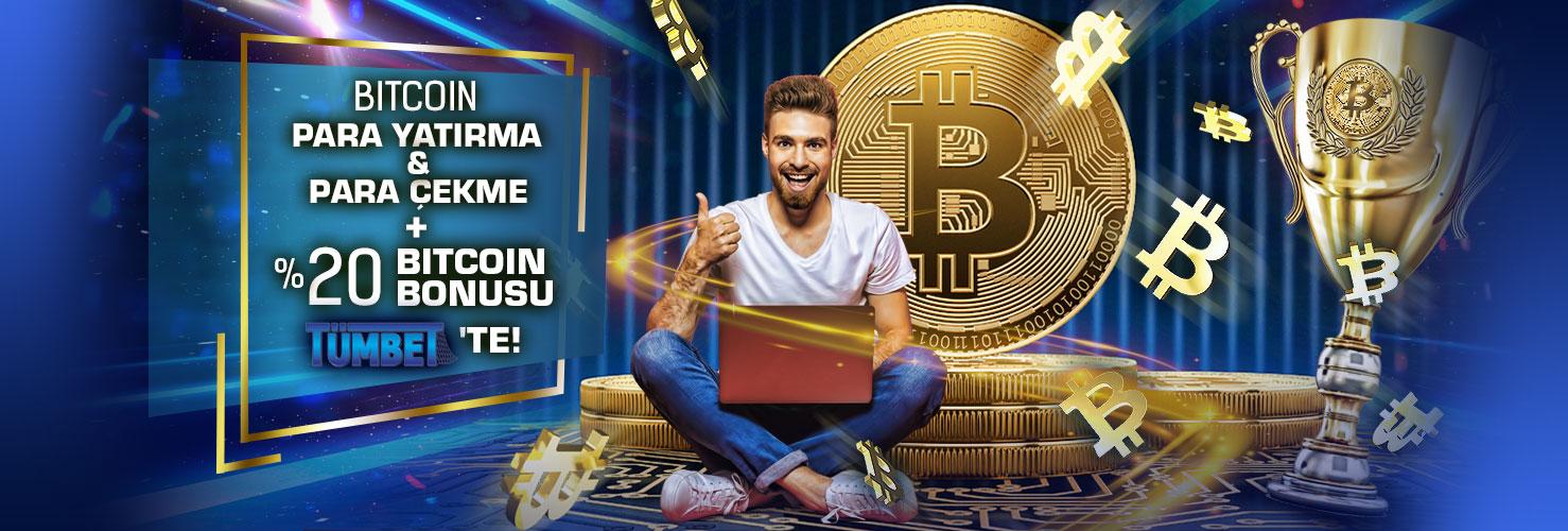 Tümbet Bitcoin Yatırım Bonusu